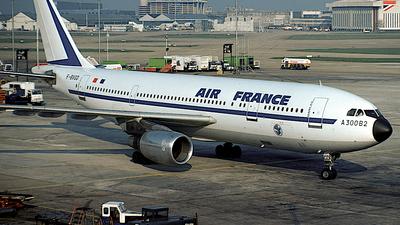F-BVGD - Airbus A300B2-203 - Air France