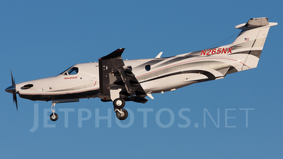 A picture of N265NX - Pilatus PC12/47E - [1265] - © Thimo van Dijk