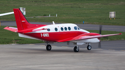 F-GNEE - Beechcraft C90B King Air - Private