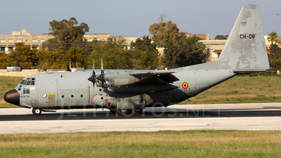 CH-08 - Lockheed C-130H Hercules - Belgium - Air Force