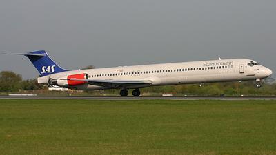 OY-KHG - McDonnell Douglas MD-82 - Scandinavian Airlines (SAS)