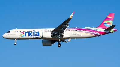 4X-AGH - Airbus A321-251NX - Arkia Israeli Airlines