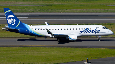 A picture of N635QX - Embraer E175LR - Alaska Airlines - © TriSpotterWA