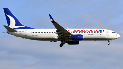 TC-SBJ - Boeing 737-8AS - AnadoluJet