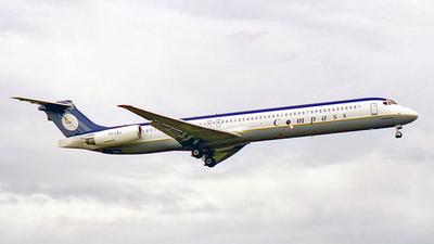 VH-LNJ - McDonnell Douglas MD-82 - Compass Airlines