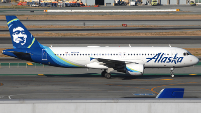 N624VA - Airbus A320-214 - Alaska Airlines