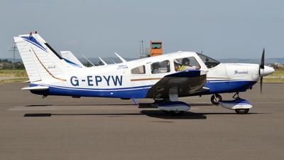 G-EPYW - Piper PA-28-181 Cherokee Archer II - Aero Club - Lydd