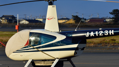 JA123H - Robinson R44 Raven II - AeroSensing