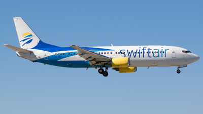 N438US - Boeing 737-4B7 - Swift Air