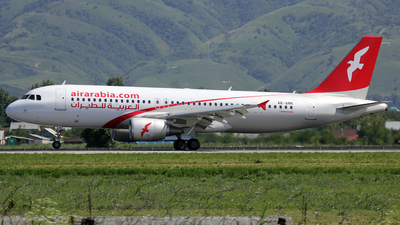 A6-ANN - Airbus A320-214 - Air Arabia