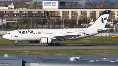 A picture of EPIBB - Airbus A300B4605R - Iran Air - © Ervin Eslami (uk.jets)