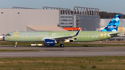 D-AVXU - Airbus A321-271NX - Airbus Industrie