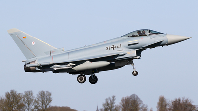 31-41 - Eurofighter Typhoon EF2000 - Germany - Air Force