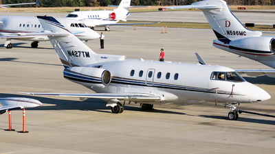N427TM - Hawker Beechcraft 800XP - Private