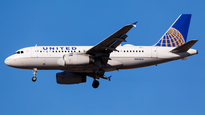 N851UA - Airbus A319-131 - United Airlines