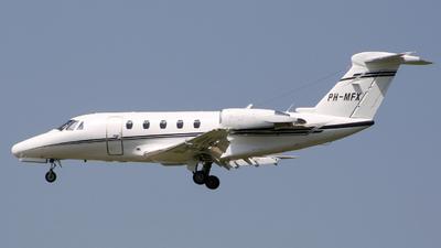 A picture of PHMFX - Cessna 650 Citation VI - JetNetherlands - © Guillem Rubio