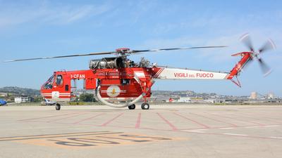 I-CFAN - Sikorsky S-64F Skycrane - Italy - Vigili del Fuoco
