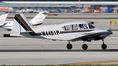 A picture of N4451P - Piper PA23160 - [231968] - © Brian T Richards