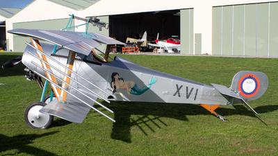 ZK-XVI - Nieuport 11 - Private