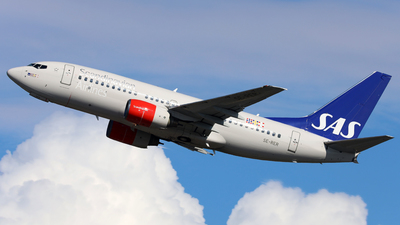 A picture of SERER - Boeing 7377BX - SAS - © R.Rimestad