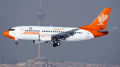 EP-FSA - Boeing 737-5L9 - Sepehran Airlines
