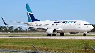 A picture of CFBWI - Boeing 7378CT - WestJet - © Doug Marsh