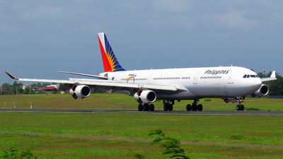 RP-C3435 - Airbus A340-313X - Philippine Airlines