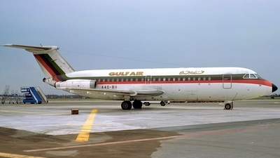A4O-BU - British Aircraft Corporation BAC 1-11 Series 432FD - Gulf Air