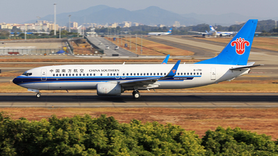 A picture of B1781 - Boeing 73786N - China Southern Airlines - © oneworld_Wang