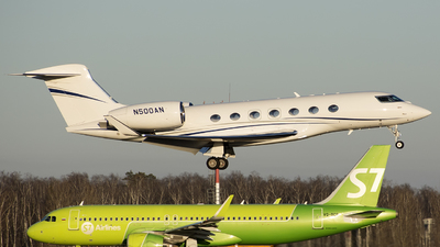 N500AN - Gulfstream G500 - Private