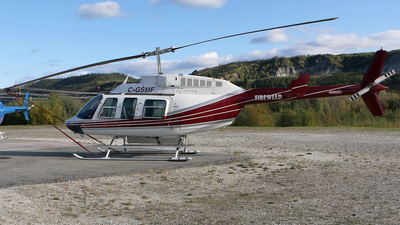 C-GSMF - Bell 206L-4 Long Ranger IV - FireWeed Helicopters