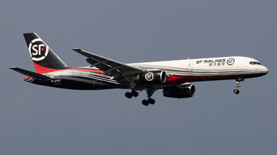 B-2817 - Boeing 757-21B(PCF) - SF Airlines