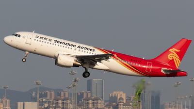 A picture of B6377 - Airbus A320214 - Shenzhen Airlines - © Jerry_Hammer