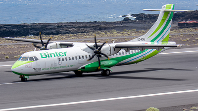 A picture of ECKSG - ATR 72500 - Binter Canarias - © Photography  Jc  la Palma