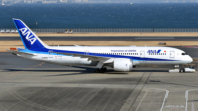 A picture of JA808A - Boeing 7878 Dreamliner - All Nippon Airways - © 42 dono
