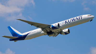 9K-AOE - Boeing 777-369ER - Kuwait Airways