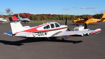 C-GSCW - Beechcraft F33A Bonanza - Private