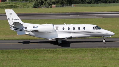 G-CHUI - Cessna 560XL Citation XLS Plus - Air Charter Scotland