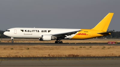 A picture of N763CK - Boeing 7673P6(ER)(BDSF) - DHL - © Huy Do