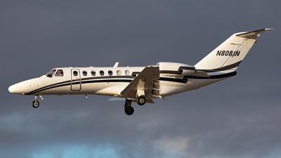 N808JN - Cessna 525 Citation CJ3 - Private