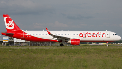 D-ABCO - Airbus A321-211 - Air Berlin