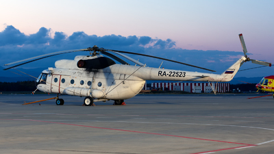 RA-22523 - Mil Mi-8T Hip - Buryatia Airlines
