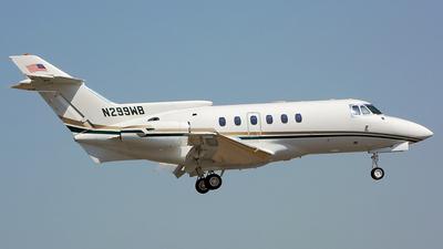 N299WB - British Aerospace BAe 125-700A - Private