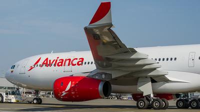 N508AV - Airbus A330-243 - Avianca