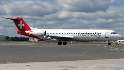 HB-JVG - Fokker 100 - Helvetic Airways