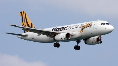 9V-TJR - Airbus A320-232 - Tiger Airways
