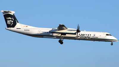 N445QX - Bombardier Dash 8-Q402 - Alaska Airlines (Horizon Air)