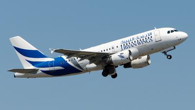 A picture of 5AWLA - Airbus A319112 - Libyan Wings - © Alp AKBOSTANCI