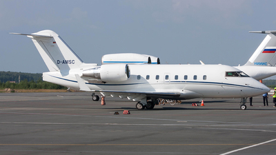 D-AMSC - Bombardier CL-600-2B16 Challenger 604 - MHS Aviation