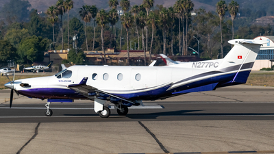 N277PC - Pilatus PC-12/45 - Private